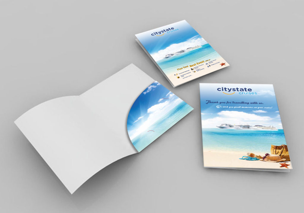 Citystate Cruises Corporate Folders