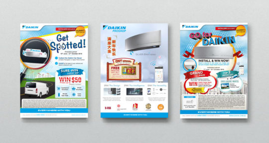 Print Design | Daikin Singapore