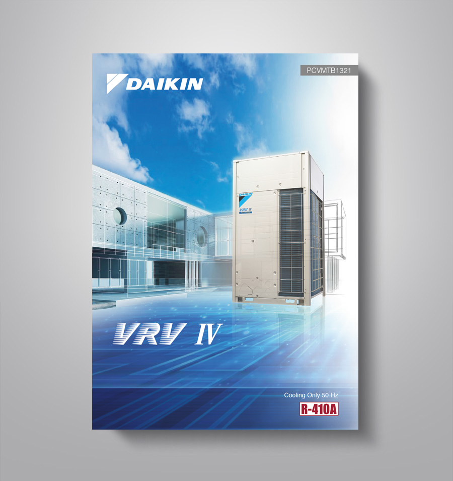 brochure design | Daikin vrv-iv product brochure