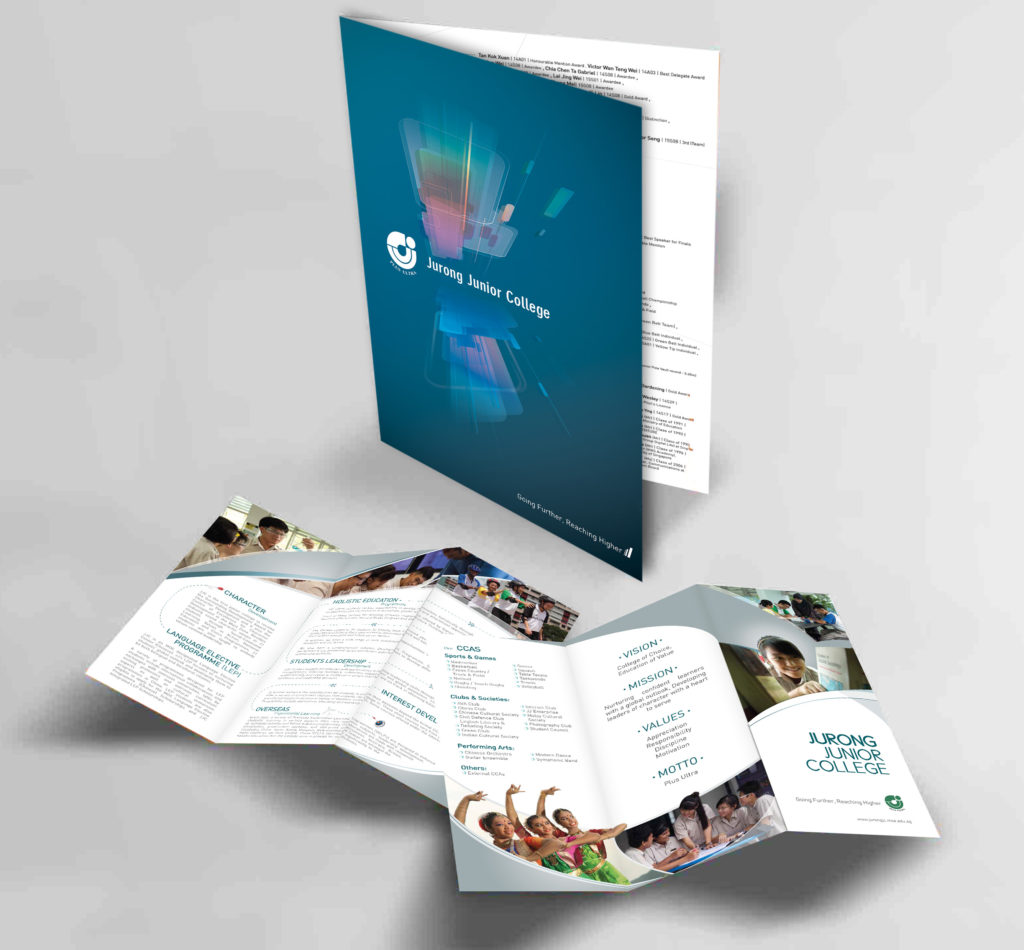 Print Design | JJC Open House Brochures