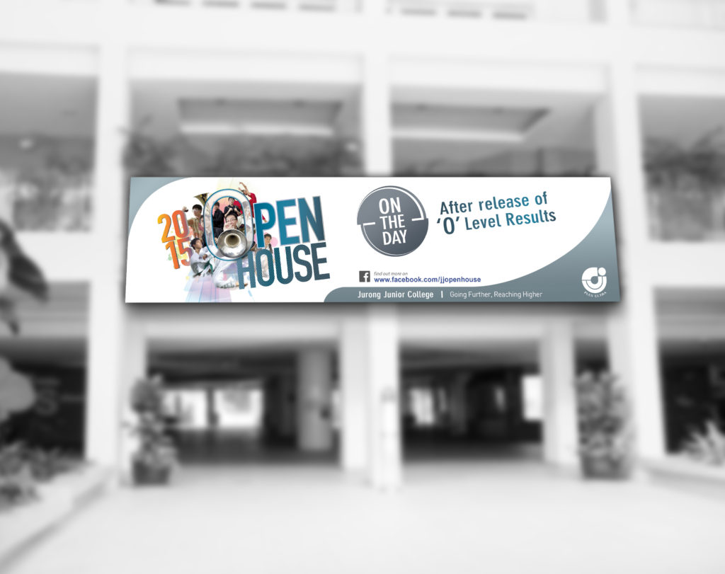 Print Design | JJC Open House Outdoor Banner