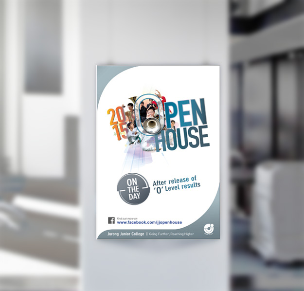 Print Design | JJC Open House Poster