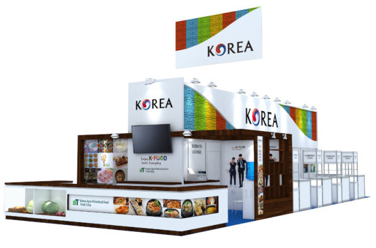 Exhibition Design | Korea Pavilion @ FHA 2016
