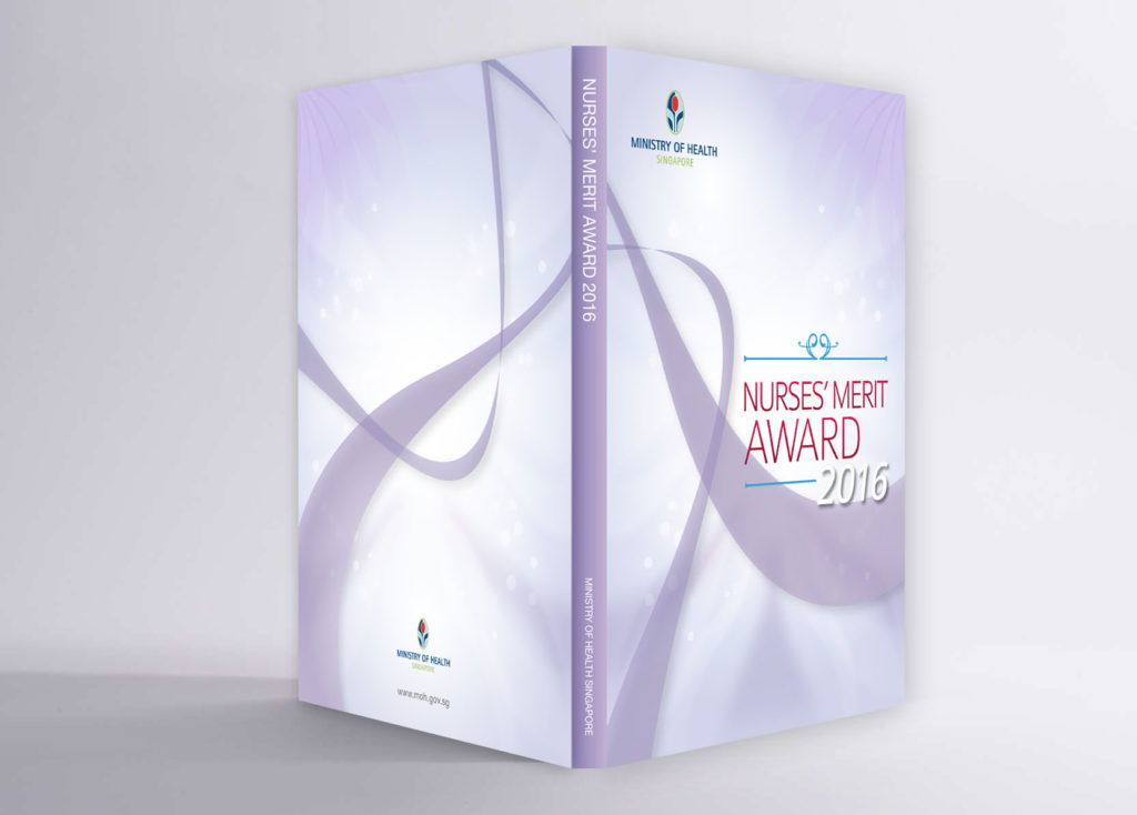 MOH Nurses' Merit Awards 2016 souvenir book design