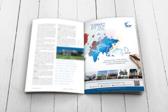 Magazine Ad | ICF International